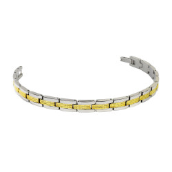 Textured Two Tone Bracelet...